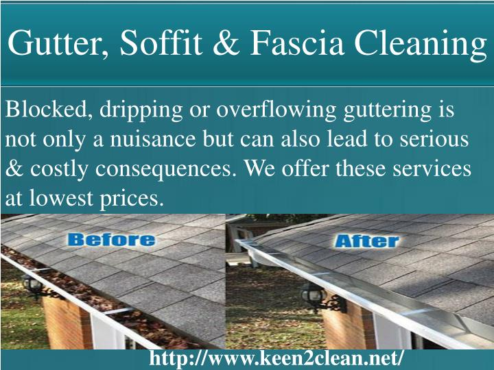 Gutter, Soffit & Fascia Cleaning