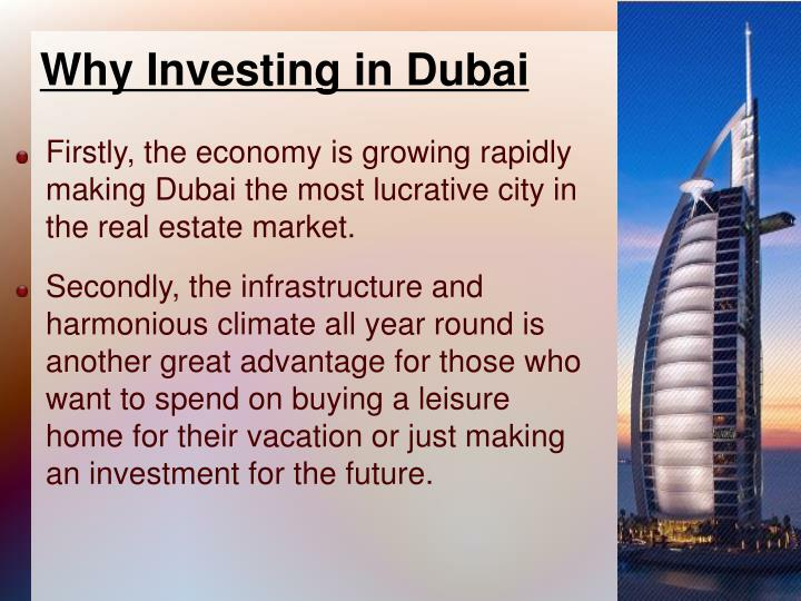 Why Investing in Dubai