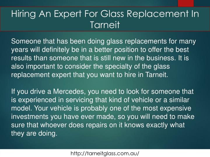Hiring An Expert For Glass Replacement In