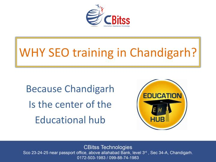 WHY SEO training in