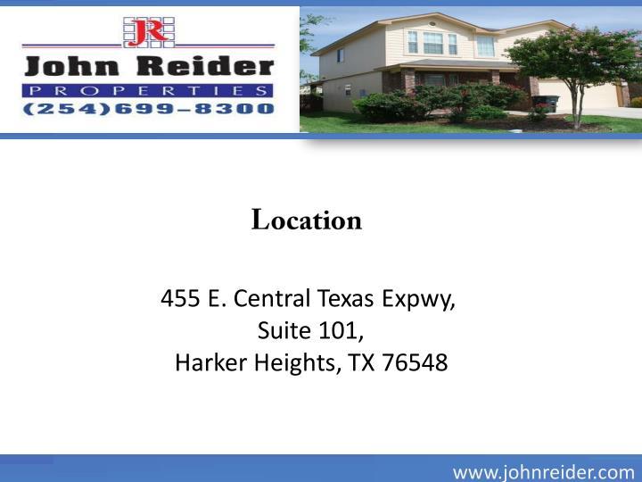 455 E. Central Texas Expwy,