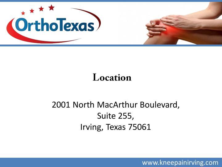 2001 North MacArthur Boulevard,