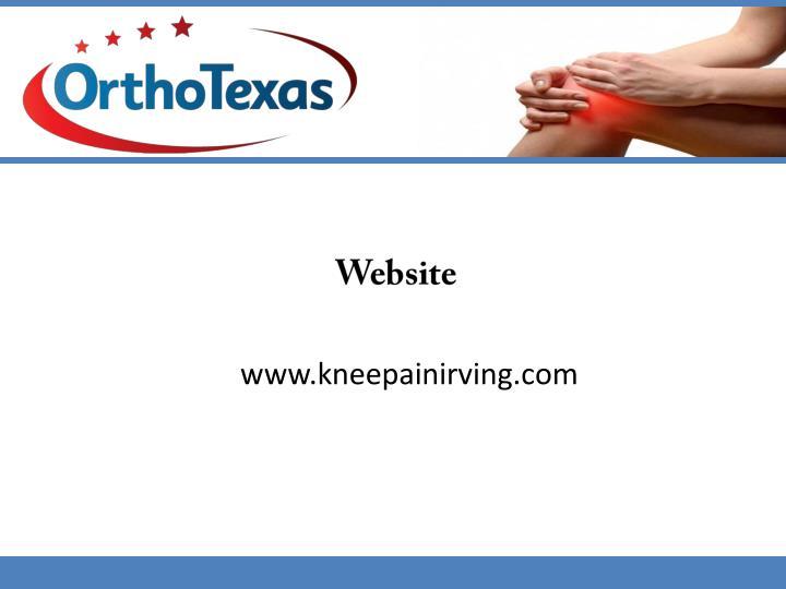 www.kneepainirving.com