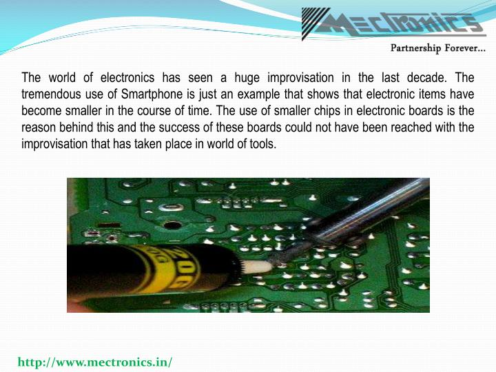 The world of electronics has seen a huge improvisation in the last decade. The tremendous use of Sma...