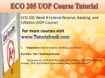 eco 205 uop course tutorial16