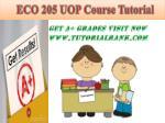 eco 205 uop course tutorial19