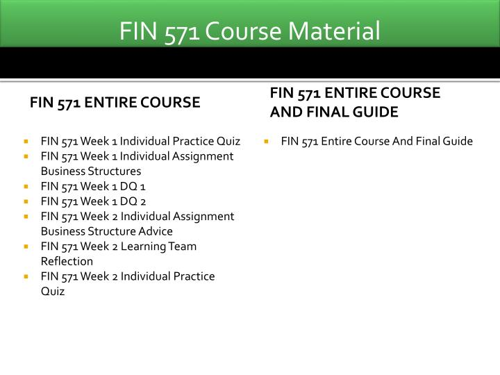 FIN 550 Week 10 Homework (Chapter 22 and 24)