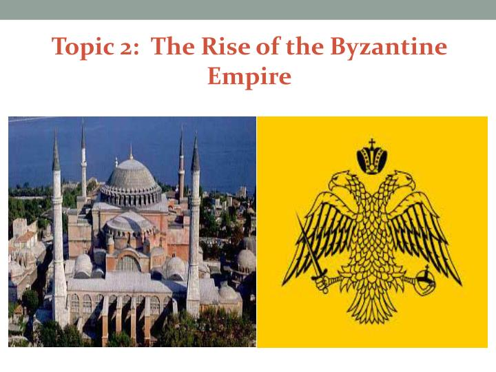 the creation of byzantine empire Get an answer for 'how did the byzantine empire influence the development of russia' and find homework help for other history questions at enotes.