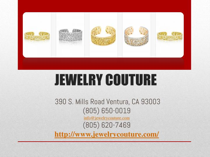 Jewelry Couture