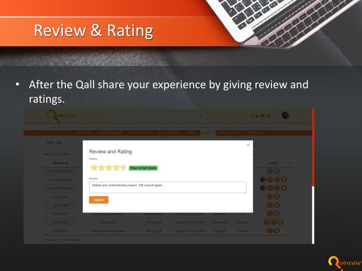 Review & Rating