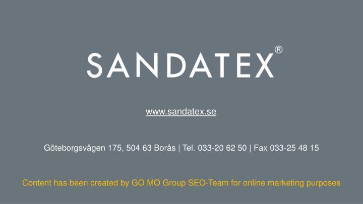 www.sandatex.se