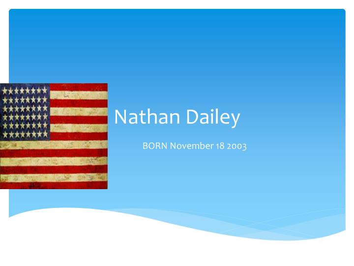 Nathan dailey