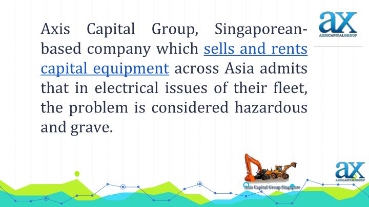 Axis Capital Group, Singaporean-based company which
