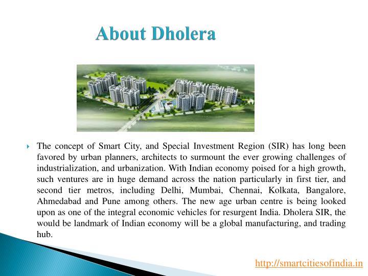 About Dholera