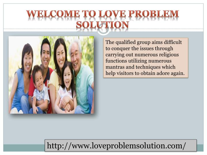 WELCOME TO LOVE PROBLEM SOLUTION