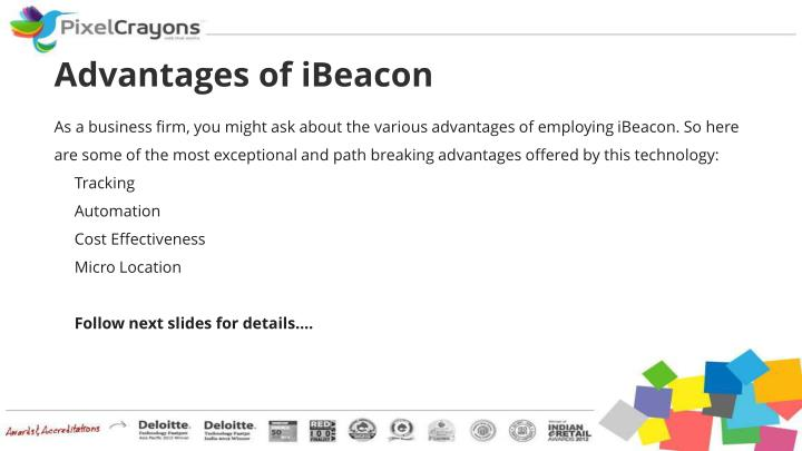 Advantages of iBeacon