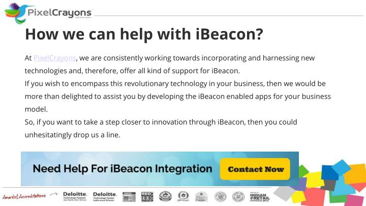 How we can help with iBeacon?