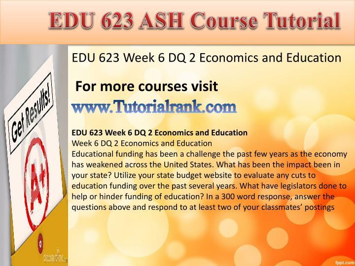EDU 623