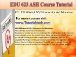 edu 623 ash course tutorial17
