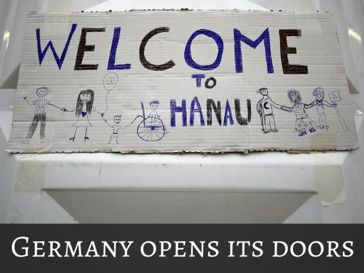 Germany opens its doors