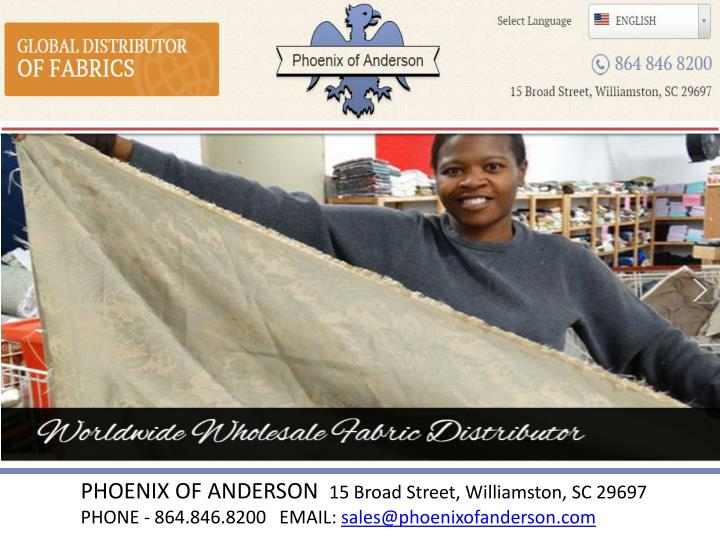 PHOENIX OF ANDERSON