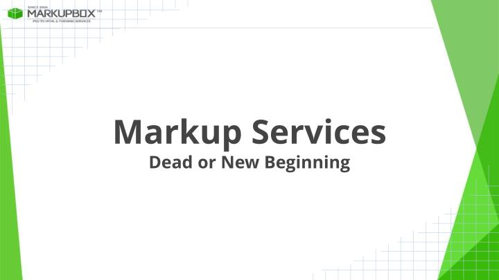 Markup Services