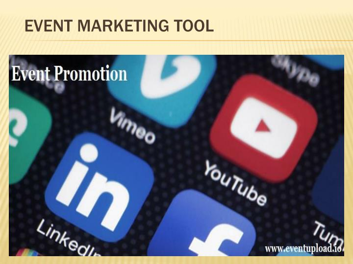 Event Marketing Tool