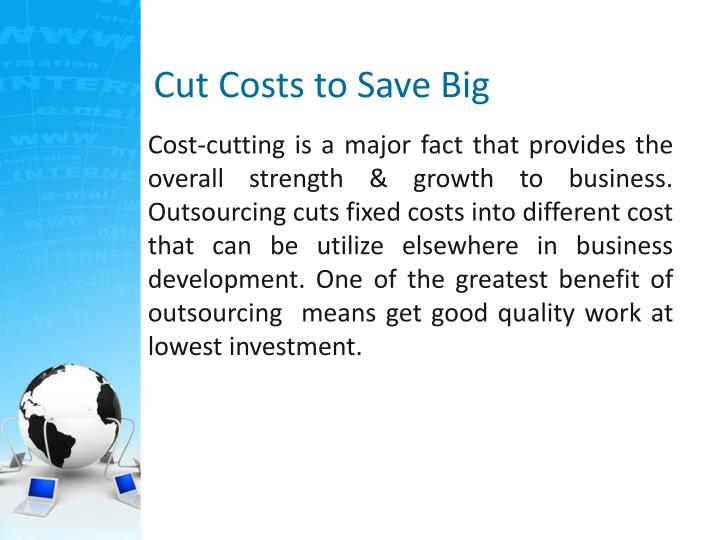 Cut Costs to Save Big