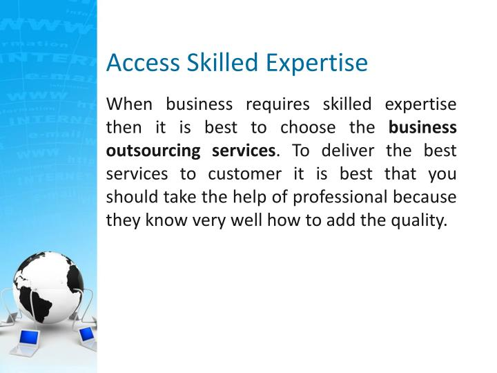 Access Skilled Expertise