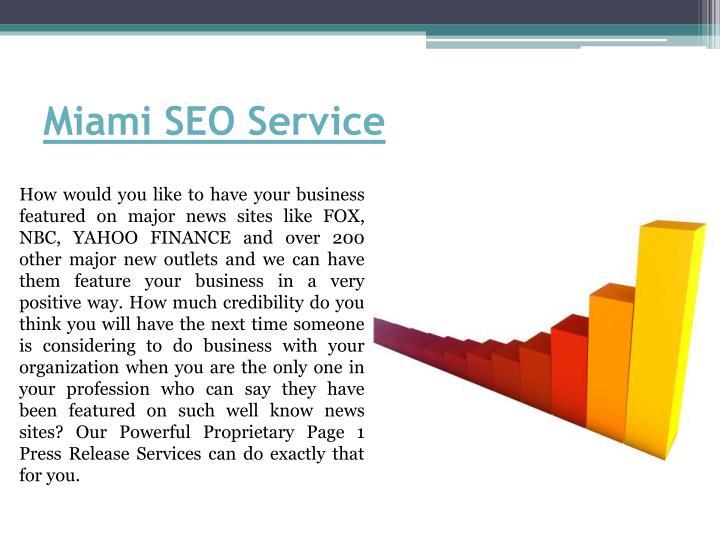 Miami SEO Service