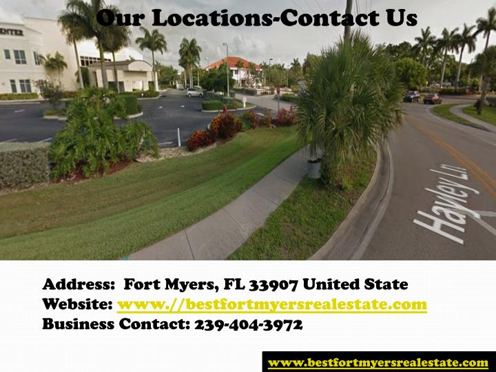 Our Locations-Contact Us