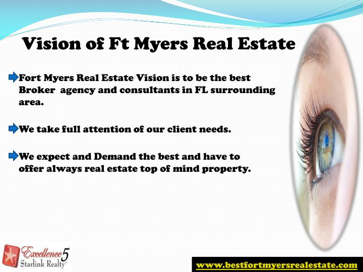Vision of Ft Myers Real Estate