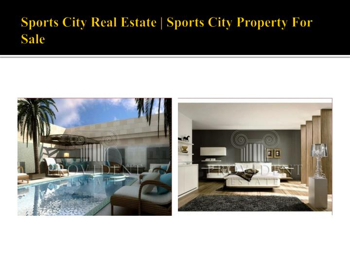 Sports city real estate sports city property for sale1