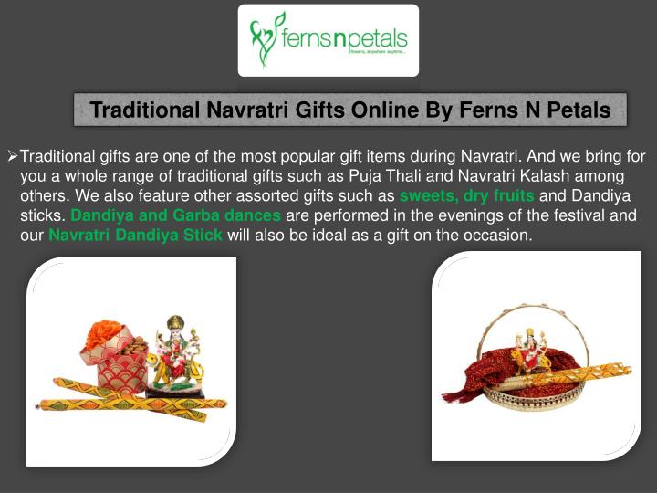 Traditional Navratri Gifts Online By Ferns N