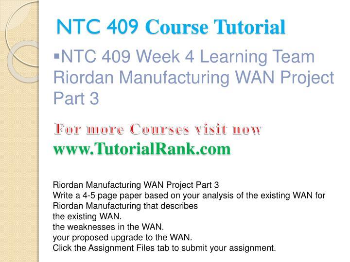 NTC 409
