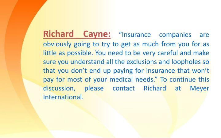 Richard Cayne: