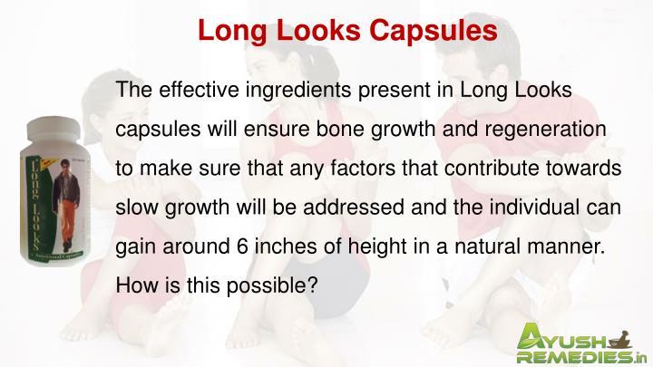 Long Looks Capsules