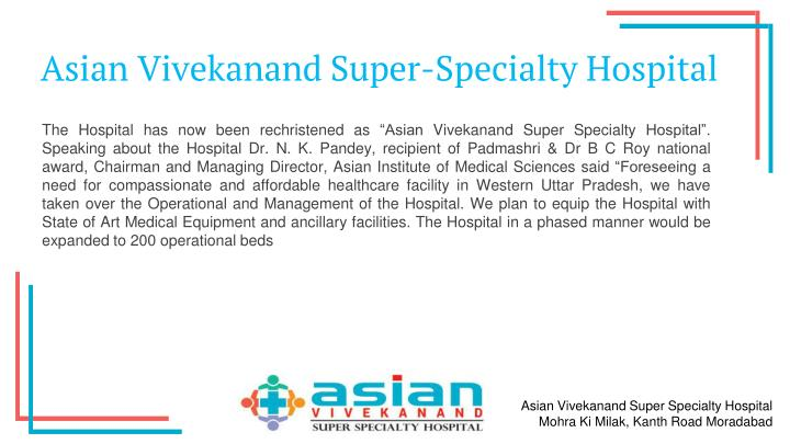 Asian Vivekanand Super-Specialty Hospital