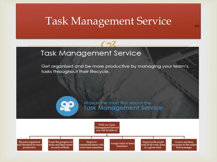 Task Management Service