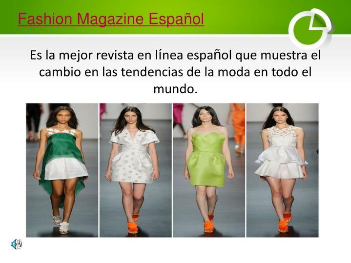 Fashion Magazine Español