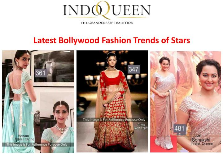 Latest Bollywood Fashion Trends of Stars