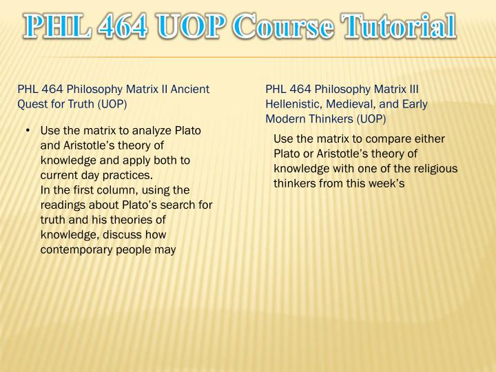 Phl 464 uop course tutorial1
