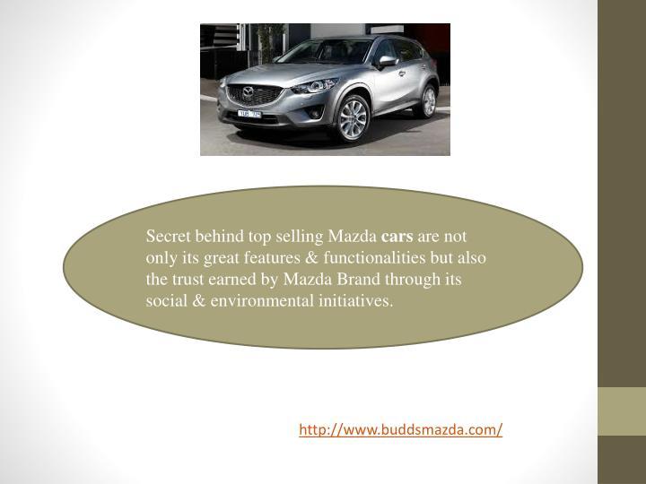 Secret behind top selling Mazda