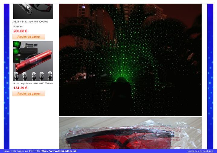 532nm S450 laser vert 3000MW