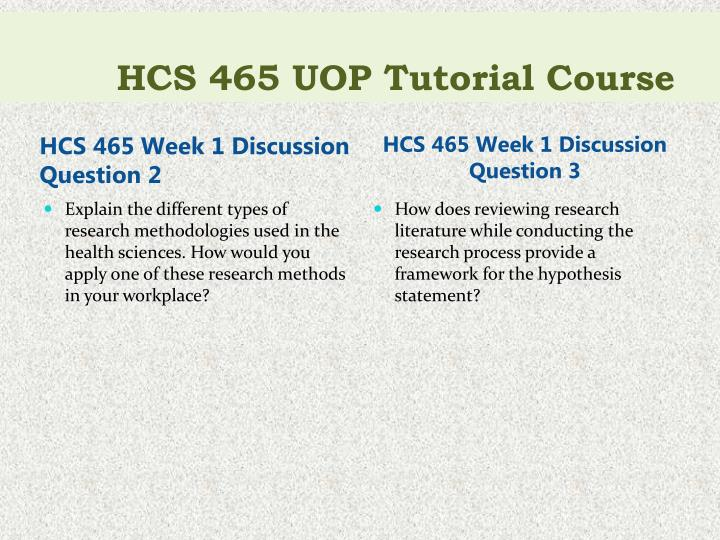 Hcs 465 uop tutorial course2