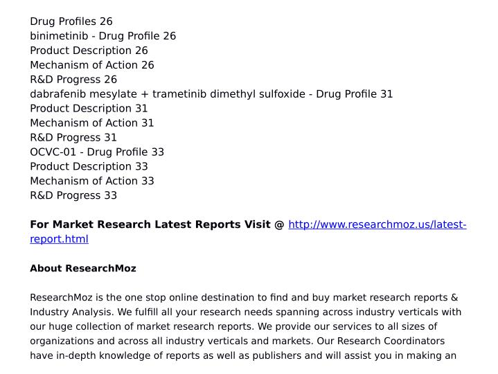 Drug Profiles 26