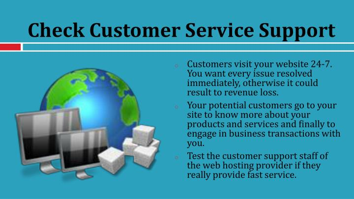 Check Customer Service Support