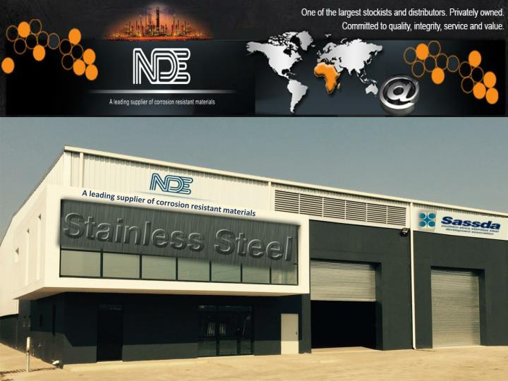 A leading supplier of corrosion resistant materials