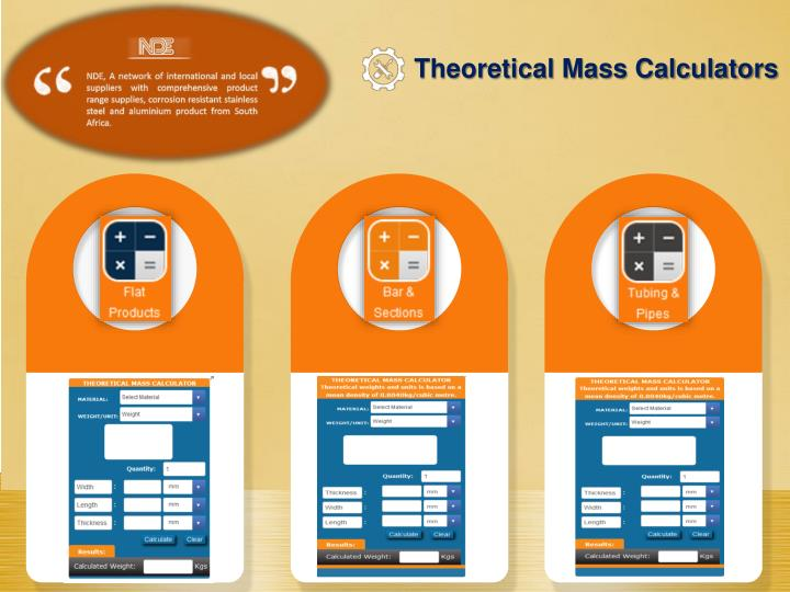Theoretical Mass Calculators