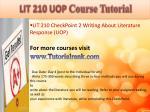 abs 415 ash course tutorial3